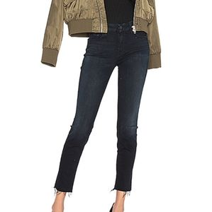 Mother The Looker Ankle Fray Skinny Jeans size 24